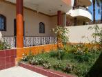 Villa Joanna, entrance & garden