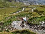Antur Stiniog's Downhill Trails, Blaenau Ffestiniog - only a 5 minute drive away