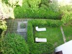 giardino per ospiti