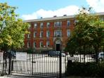 County House - a premire building with private gated parking.