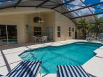 Gorgeous South Facing Pool with Covered Lanai