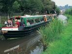 Enjoy a trip on the Montgomery Canal that runs through Welshpool