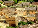 Typical Provencal rooftops create fascinating pictures in almost every town or village.