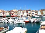 Cassis - a mediterranean gem is less than 2 hours away and just one of many places to visit.