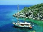 Enjoy a days sailing and swimming on a Gulet ....The 12 Island boat trip.