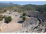 Kaunos Amphitheatre... a walk or boat ride from the town.