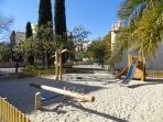 Playground at 50m