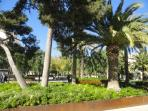 Beautiful renovated 'Parque de la Cultura' at 50m
