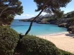 Cala Esmeralda. 5 min walk from apartment