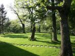 Le Caiole Nocciolo / Hazelnut. The garden.