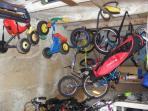 garage à vélos et vtt