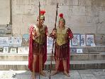 Roman guards in Diocletian's palace