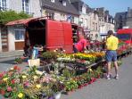 Jugon-les-Lacs is a friendly village with a weekly market...
