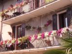Glicine House balcony