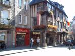 The ancient city of Dinan is just up the road.....