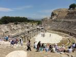 Ephesus is one of the best preserved classical cities in the world and well worth a visit !!