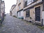 Hay Hill Bath  a quiet pedestrian street yet only 3 minutes walk from Milsom Street
