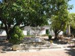 The clubhouse - just a 3 minute walk to the dappled shade of this former Spanish Cortijo