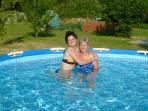 Splash pool for cooling off!
