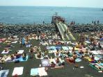 The nearby beach of San Giovanni Li Cuti