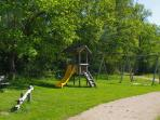 Village play area, La Chaize-Giraud