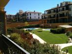 Terrace View Overlooking Communial Pool & Gardens