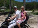 Explore the local areas by moped from 150 baht per day rentals