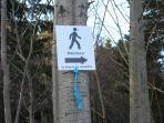 Sentiers de marche