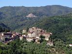 View to Castelvecchio and Pontito