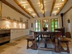 Huge farmhouse kitchen