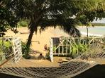 Relax on our hammock and read a book whilst looking over the beach.