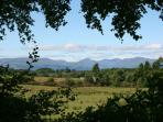 spectacular view from cottages ,