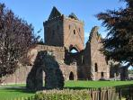 Sweetheart Abbey, New Abbey.