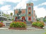 Tazacorte town