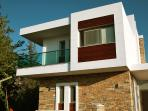 Absolutely no industrial material have been used in making the villa. It is all marble & glass.