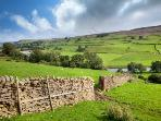 Yorkshire Dales countryside - one of Britain's true ' breathing spaces'.