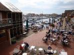 Eastbourne's Sovereign Harbour Marina Entrance - good place to visit 5-10 mns in a car.