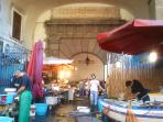 historical market la 'Pescheria'