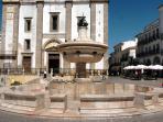 Giraldo Square in Evora