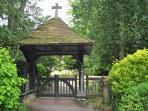 Walberton Church Entrance