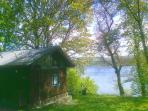 Sloy cabin by Loch