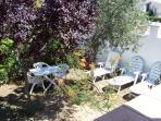 jardin transats table + chaises