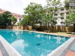 Outdoor swimming pool & children pool