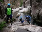 Canyoning dans les Gorges du Chassezac