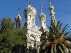 San Remo. The Russian Church.