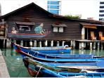 nearby attraction - Clan Jetty (8mins walk from homestay)