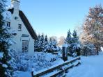 It Koaihûs in de winter