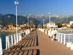 Marina di Massa Pier
