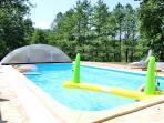 Swimming pool (8 x 4 x 1,5 m)