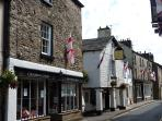Kirkby Lonsdale only 2 miles away